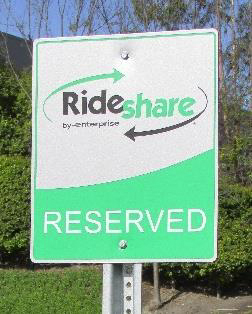 Rideshare Reserved Parking